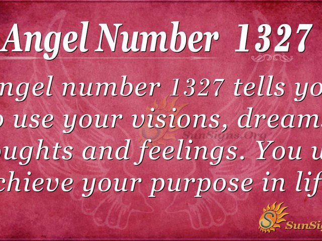 Angel Number 1327 Meaning: Balance Your Time