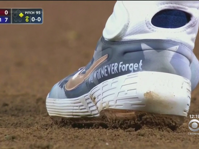 Mets' Alonso Buys Custom 9/11 Cleats For Teammates