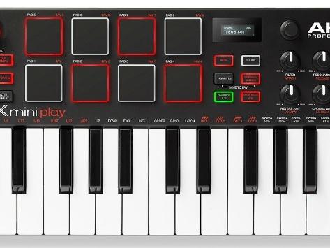 Akai's MPK Mini Play - New $129 Mini Synth