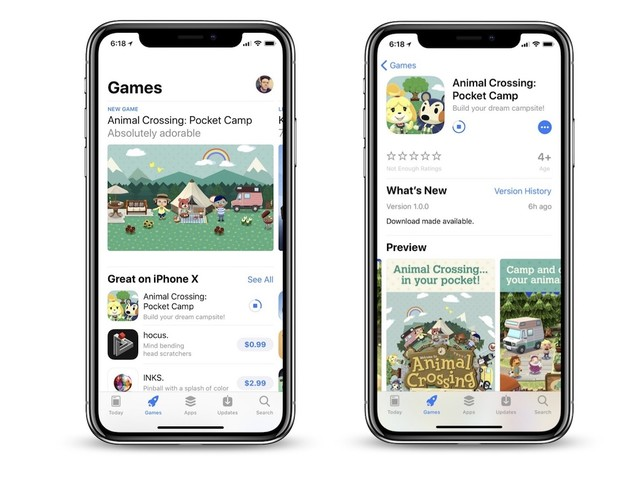 'Animal Crossing: Pocket Camp' Begins Early Worldwide Rollout on the iOS App Store [Update]