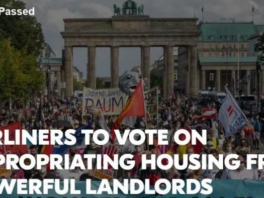 Shocker! Crazy 'Afforable Housing' Referendum Passes In German Election