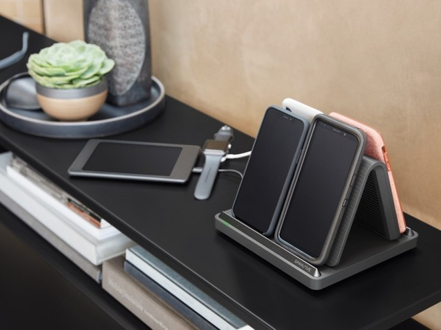 New 'Source' Wireless Charger From Spansive Charges Four iPhones at Once Thanks to Unique Design