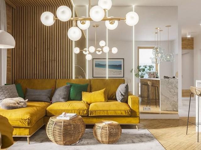 Szczecin Apartment by Andrii Żdaniuk