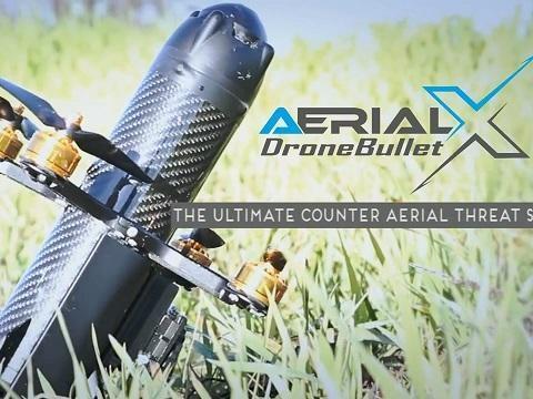 Kamikaze DroneBullet Knocks Enemy UAVs Out Of The Sky
