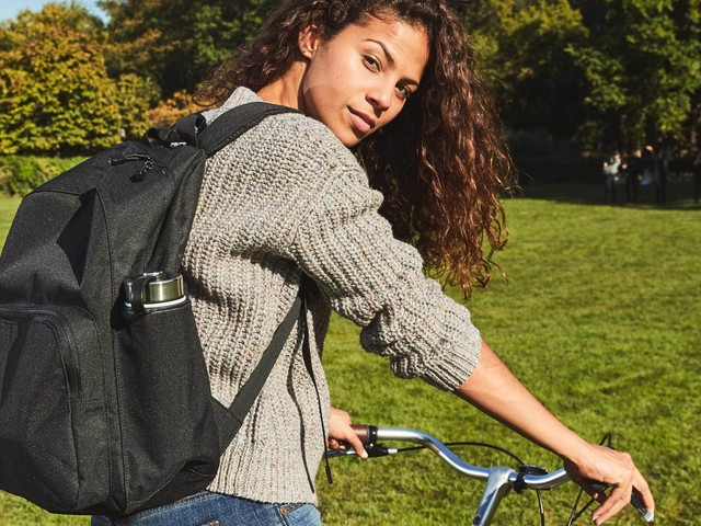 Lo & Sons makes bags that are expertly designed for travel — I was able to fit a weekend's worth of items in its largest backpack