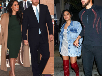 LOOKING GOODT! New Mama Meghan Markle Re-Rocked Her Green Engagement Dress & Prince Harry 'Loved It' + Steph & Ayesha Curry Step Out For Pre-Game Date Night