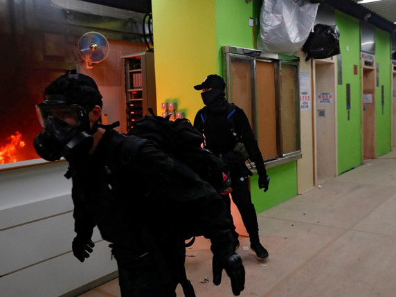 Hong Kongers Riot Over Plans To Use Public Housing As Coronavirus Quarantine