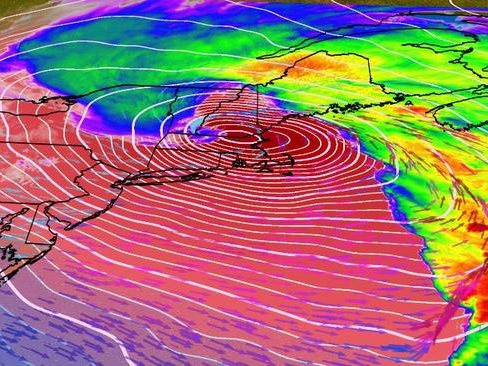 """Wild Night With 90mph Wind Gusts"" - Bomb Cyclone Unleashes Hurricane-Force Winds In Northeast"
