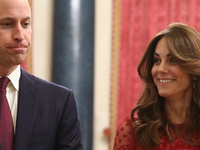 Kate Middleton's Monochromatic Red Party Outfit Features Head-To-Toe Sequins