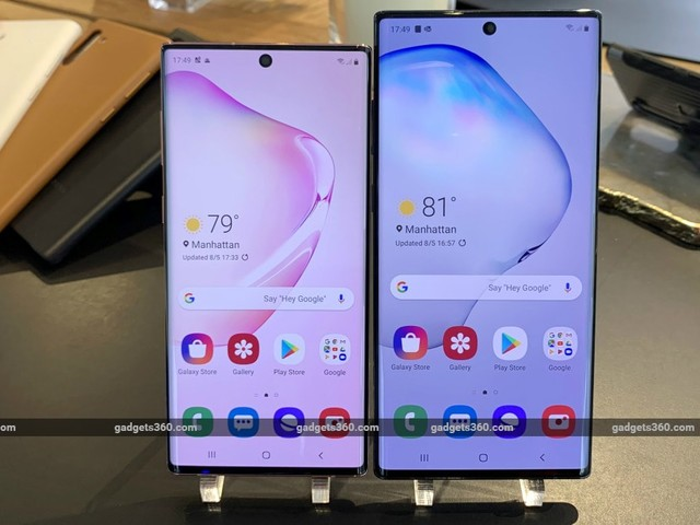 Samsung Galaxy Note 10 Series Update Brings Improved Facial Recognition: Report