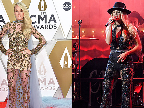 Carrie Underwood Stuns In One Outfit After Another At 2019 CMAs: See All Her Gorgeous Looks