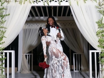 Waka Flocka & Tammy Rivera Celebrate 5th Anniversary With Fairytale Vow Renewal Wedding In Mexico