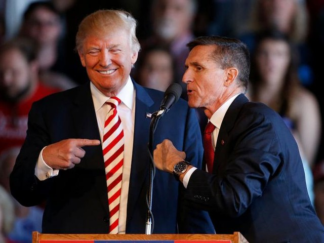 """Remember When Trump Reportedly Told Michael Flynn to """"Stay Strong"""" During the Russia Investigation?"""