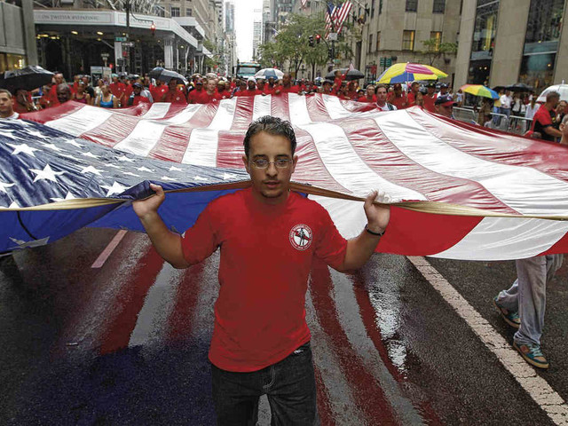 NYC Labor Day parade returns to Fifth Avenue