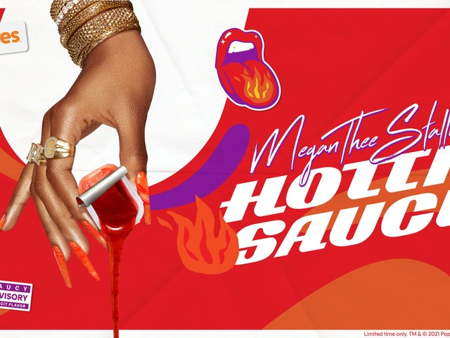 Megan Thee Stallion Launches New Hot Sauce in Popeyes Collab