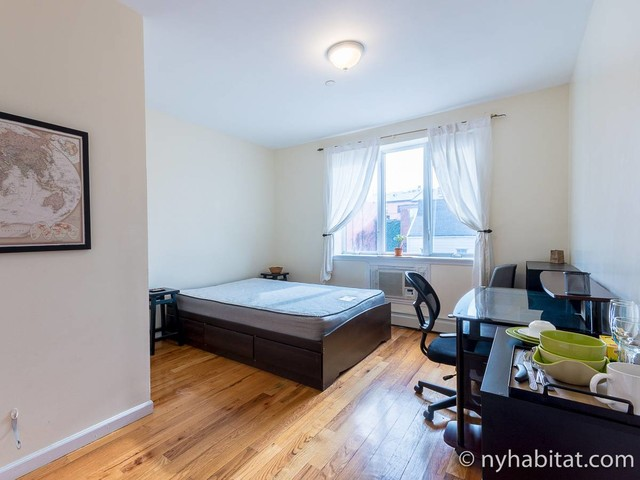 New York Roommate: Room for rent in Park Slope - 2 Bedroom apartment (NY-17389)