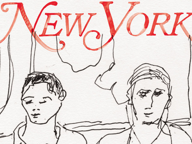 For New York's 50th Anniversary, Alex Katz Revisits His 'Subway Drawings'