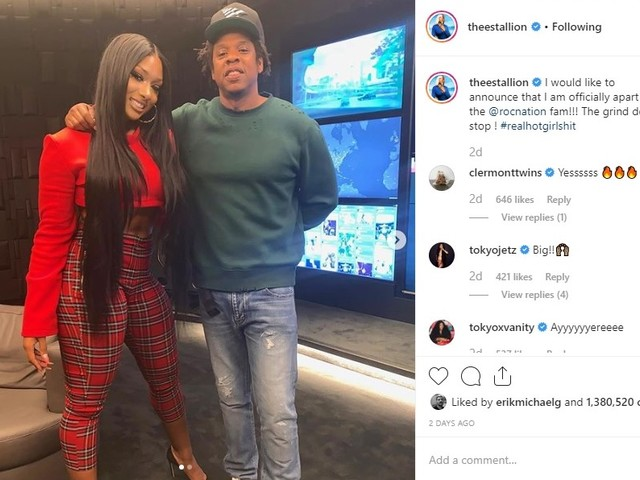 Houston's Megan Thee Stallion signs with Jay-Z's Roc Nation