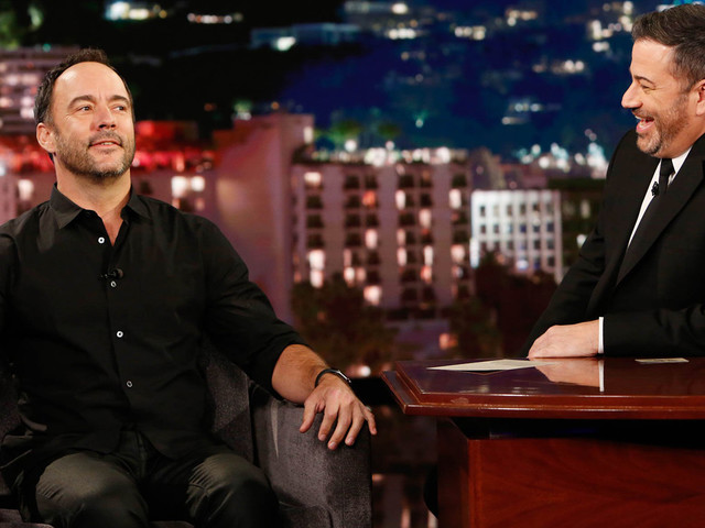 Dave Matthews Reacts To Rock & Roll Hall of Fame 2020 Nomination on 'Kimmel'!