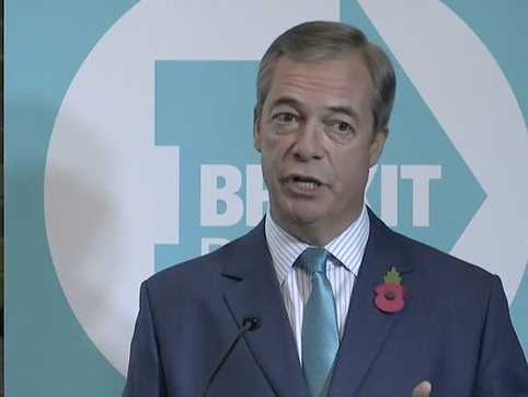 Farage Says Brexit Party Will Field 600+ Candidates, Dashing Hopes For Pro-Brexit Election Alliance
