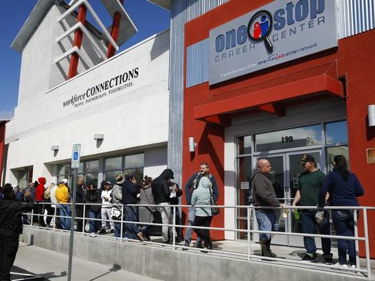 Nevada jobless rate improves a tick in February, to 8.3%
