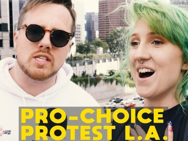 WATCH: Pro-abortion Californians rail against other states' rights — as they accuse pro-lifers of 'overreach'