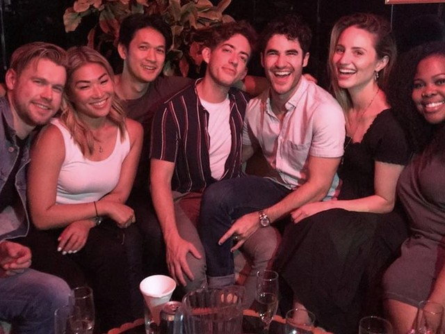 """Glee Costars Reunited at a Bar to Sing """"Shallow"""" and """"The Circle of Life,"""" and I Can't Stop Smiling"""