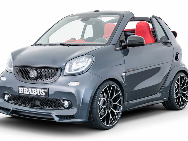 Brabus Ultimate E Shadow Edition Is A Smart ForTwo EQ That Starts At €64,900!