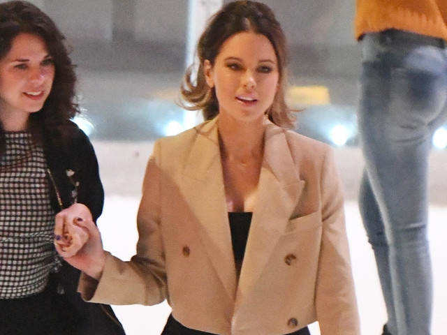 Kate Beckinsale Goes Ice Skating After Planned Parenthood Event