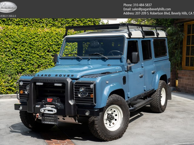 1991 Land-Rover Defender--110