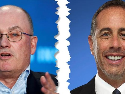 Lessons From Steve Cohen And Jerry Seinfeld