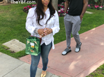 EXCLUSIVE: 'Friend' Charrisse Jackson Jordan Was Left Out Of The 'RHOP' Trailer, But She's Unbothered In These LA Streets