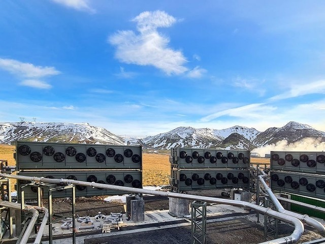 The world's biggest carbon-removal plant just opened. In a year, it'll negate just 3 seconds' worth of global emissions.
