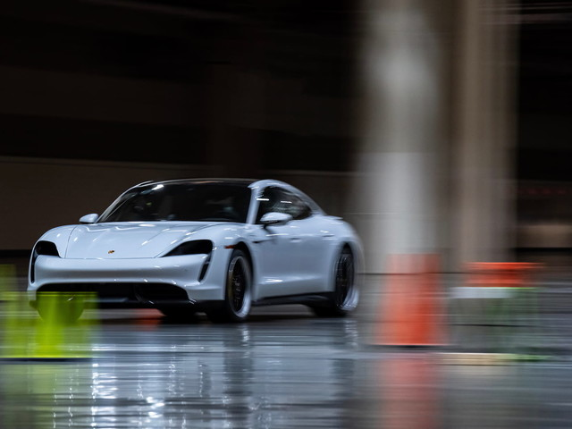 The Porsche Taycan EV just set a speed record we didn't know existed
