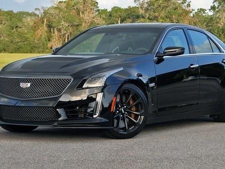 Cadillac CTS-V – Driven