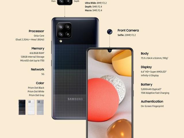 Samsung announces an even cheaper 5G phone