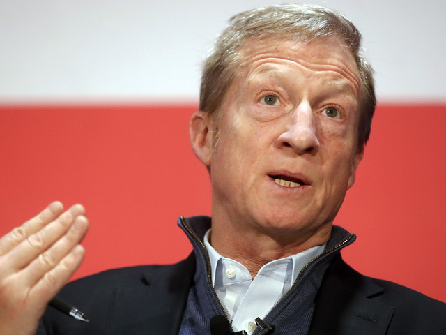 Billionaire Liberal Activist Tom Steyer Will Not Run For President In 2020