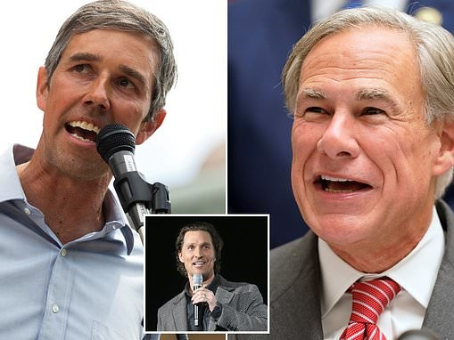 Beto O'Rourke is set to run for Texas Governor in 2022 as Greg Abbott's approval rating drops to 45%