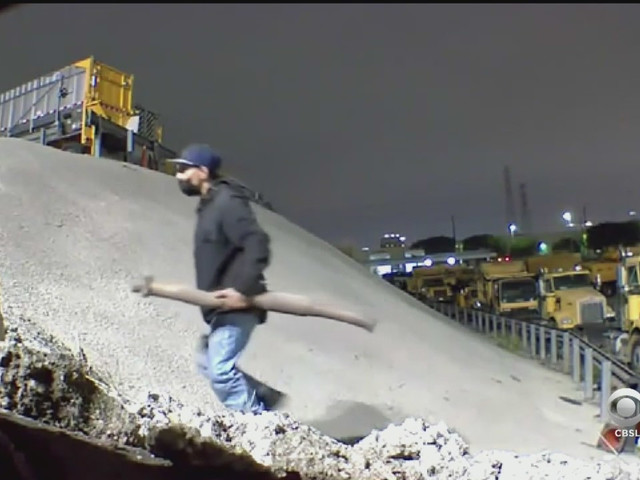 Goldstein Investigates: Thieves Caught On Camera Stealing Catalytic Converters From LA City Yard
