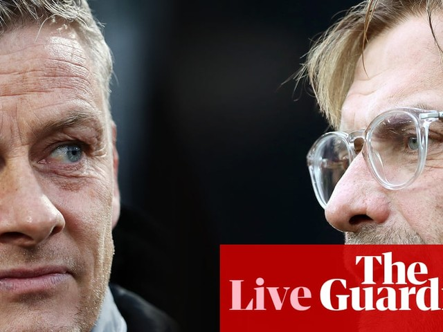 Manchester United v Liverpool: Premier League – live!
