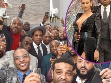 Hip Hop Royalty Showed Out At The Roc Nation Brunch Soiree – Jay Z & Beyonce Ooze Black Love, Remy Ma, LaLa Anthony & Tons More!