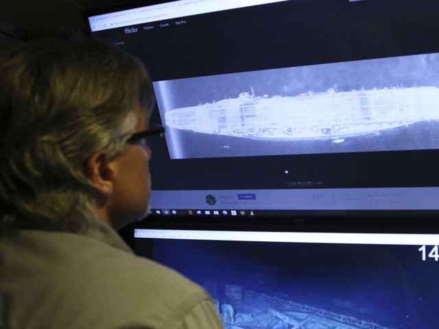 Inside the search for sunken WWII ships deep in the Pacific