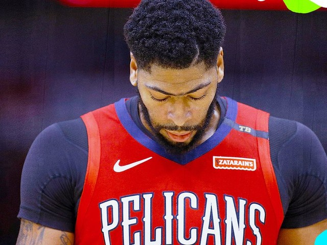 There's no reason for the Pelicans to trade Anthony Davis now.