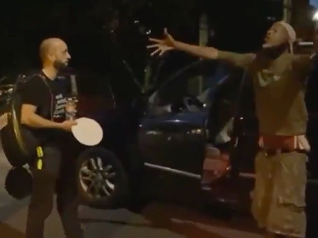 Black man goes on profane rant against 'Antifa' rioters stirring up trouble in Portland: 'You ain't from here, motherf***er!'