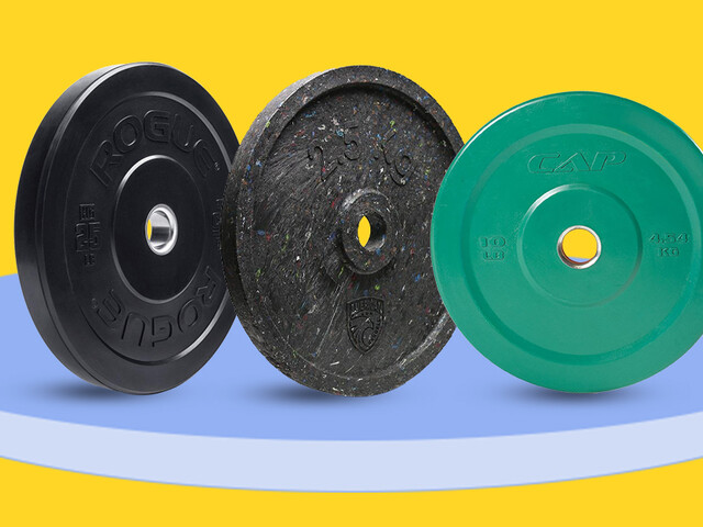 Get Buff AF with a Pair of the Best Bumper Plates