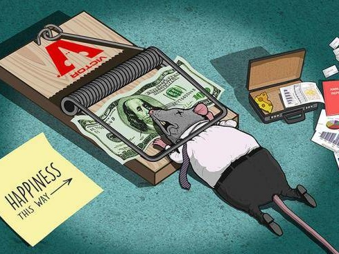 Will You Really Achieve Happiness If You Finally Win the Rat Race? Don't Answer the Question Until You've Watched Steve Cutts' New Animation