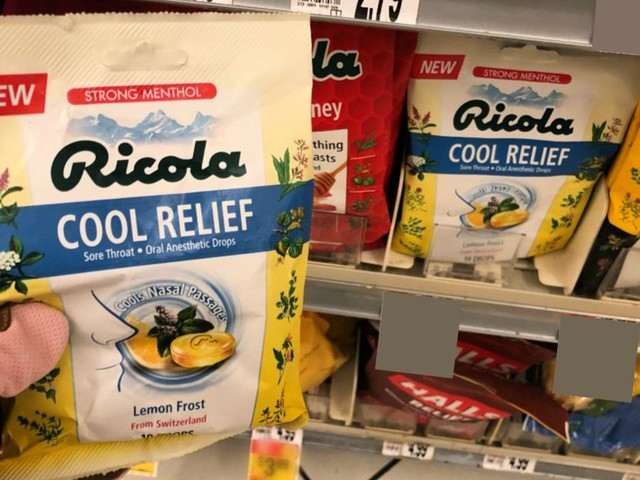 Ricola Cool Relief Throat Drops Just $0.19 at ShopRite! {Rebate}