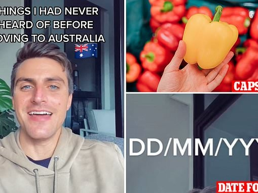 US expat Adam Foskey lists things he had NEVER heard of before moving to Australia from America