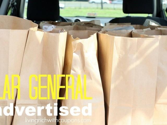 Save Big at Dollar General with This Week's Huge List Unadvertised Deals