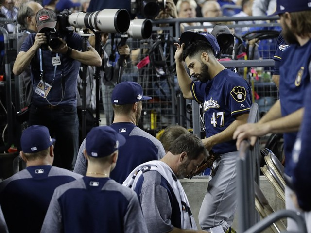 Gio Gonzalez to miss rest of postseason for Brewers